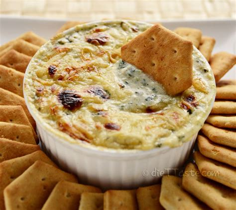 substitution for cottage cheese spinach artichoke dip diet taste