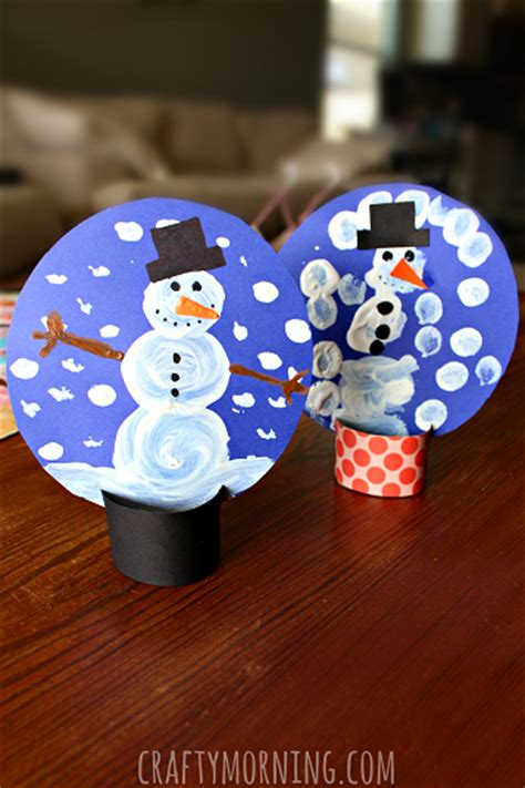 snow craft for snowman themed crafts and freebies