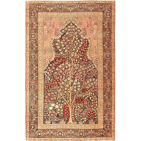 tree of design kerman rug at 1stdibs