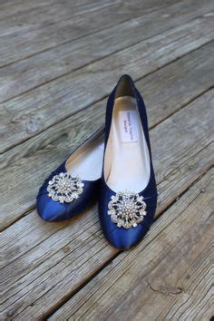 Navy Blue Flats For Wedding by Navy Blue Wedding Flats With Lace Handmade Wedding