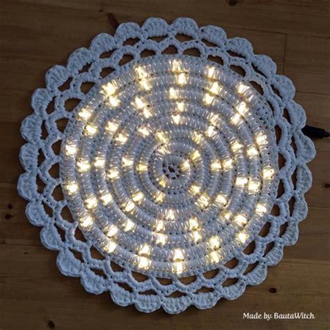 lighted crochet rug iluminated crochet rug crochet patterns and tutorials