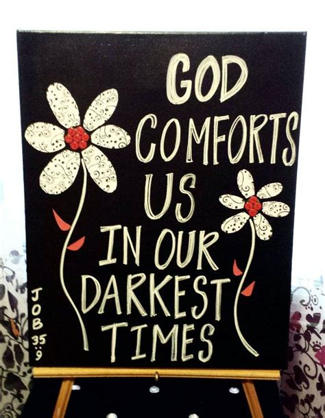 god comforts us god comforts us in our darkest times