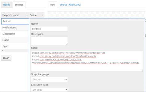 liferay workflow java liferay workflow with kaleo use custom class on