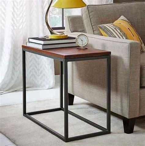 mesa rustica de arrime madera  hierro tipo industrial