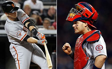 yadier molina swing the common link catching mlb the sports quotient