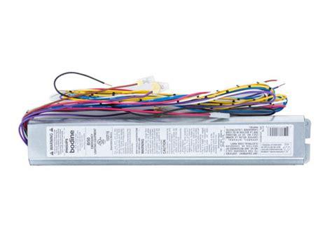led bodenle philips bodine b50 linear fluorescent emergency ballast