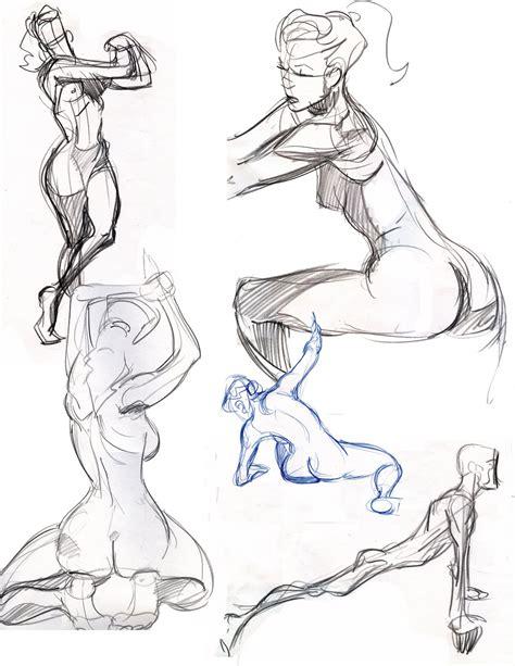 2 Minute Sketches by Travis Sengaus Sketchee Bizniz 2 Minute Drawing Poses