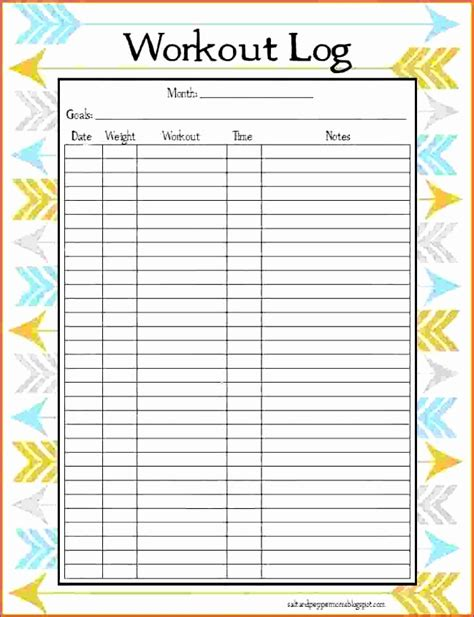printable excel instructions workout log excel template oseqf lovely excel exercise 5