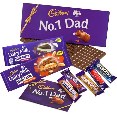 dad s chocolate gift chocolate hers cadbury gifts