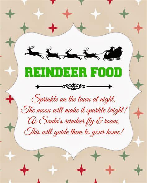 Free Printable Reindeer Food Recipe | search results for reindeer food free printable