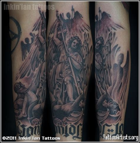 tattoo angel vs demon angels vs demons tattoo artists org