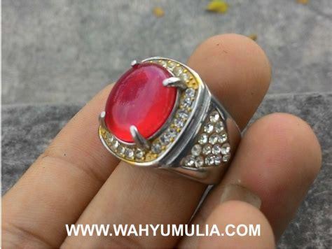 Batu Cincin Akik Sulaiman 3 batu cincin carnelian akik darah kode 346 wahyu mulia