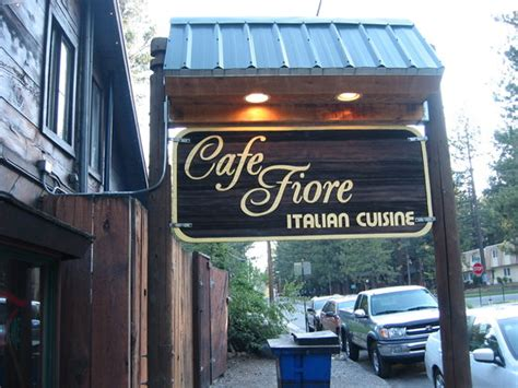 cafe fiore tahoe cafe fiore lake tahoe california menu prices