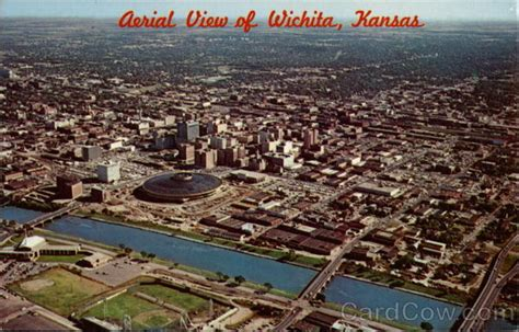 parks in wichita ks aerial view of wichita kansas