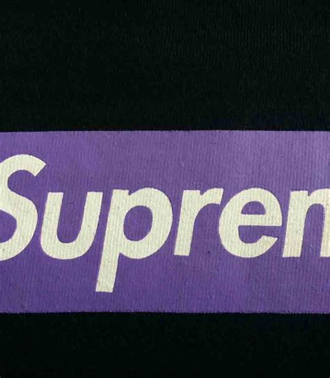 Supreme Purple Box Logo Built Up T Shirt Quality 1 1 supreme purple box logo t shirt dopestudent