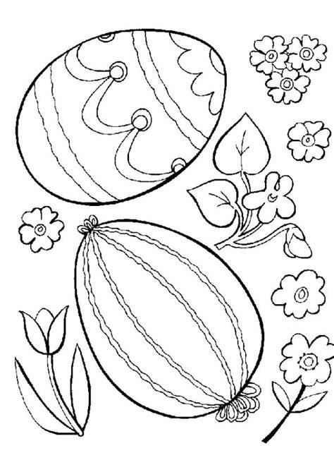 Coloriage oeuf de paques 6 sur Hugolescargot.com