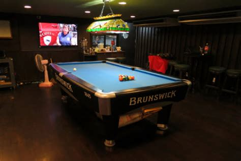sports bar with pool tables the sports bar and grill on sukhumvit in bangkok thailand
