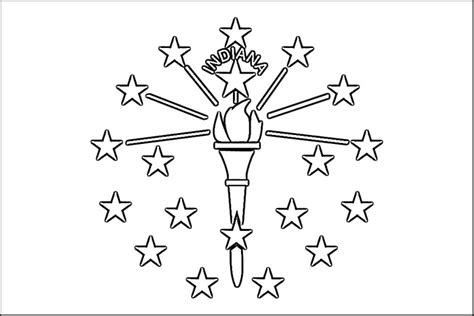 coloring page of indiana free coloring pages of indiana