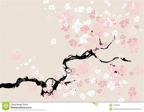 Blossom Tree Wall Stickers abstract floral background cherry blossom stock photos