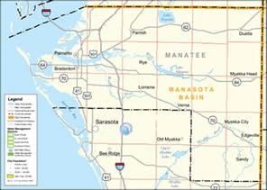 florida township and range map southwest florida water management district manatee