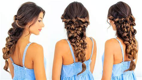 Channel Luxy Box how to mermaid braid hair tutorial luxy hair