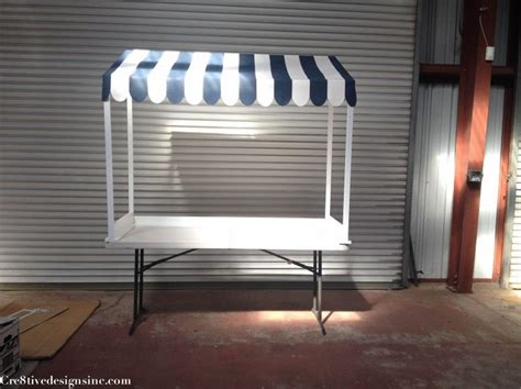 stand easy awning ice cream lemonade stand canopy party ideas pinterest