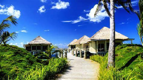 Strandhütten Hintergrundbild   1920x1080 HD   Kostenlose
