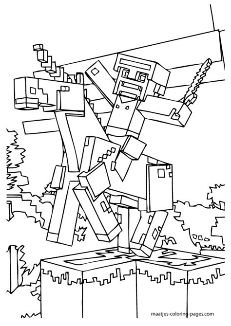 minecraft wars coloring pages printable minecraft coloring pages coloring home