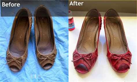 change the colour of your shoes with some leather dye