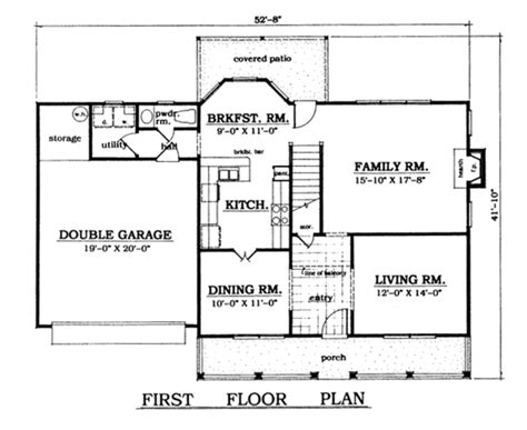 house plan 1978 country style house plan 3 beds 2 5 baths 1978 sq ft