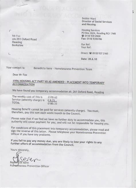 council unable house evicted ray fox enforcement