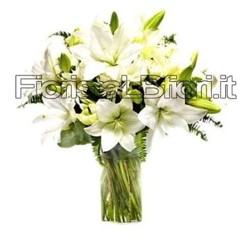 lilium fiori mazzo di fiori con lilium consegna fiori a