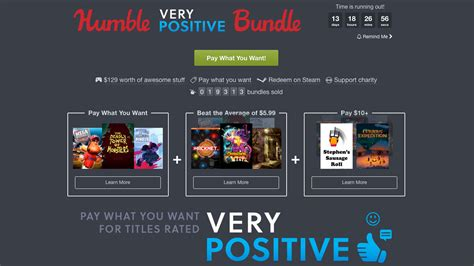 Humble Bundle Humble Bundle Has 8 With Quot Positive Quot Steam