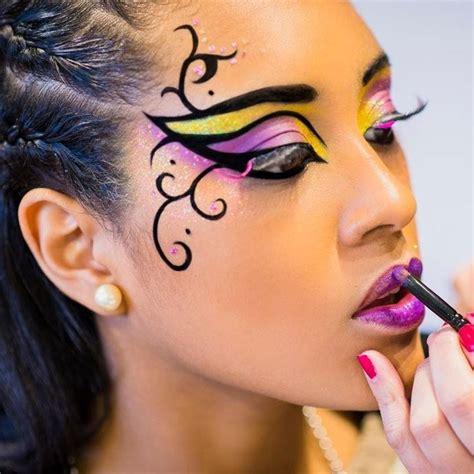imagenes de halloween para el rostro las 25 mejores ideas sobre maquillaje de carnaval en