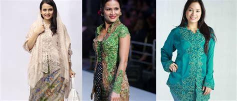 Baju Kebaya Untuk Tubuh Gemuk inilah model baju kebaya modern untuk wanita gemuk terpopuler