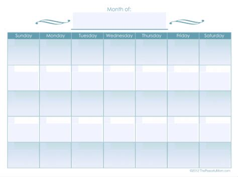 free monthly bill calendar new calendar template site