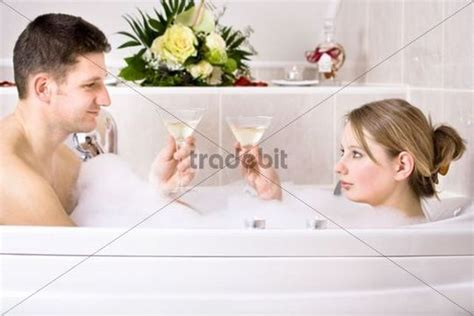 couple bathtub young couple in the bathtub download people