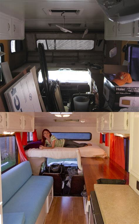 Kitchen Remodel Ideas For Older Homes 1986 toyota dolphin rv remodel whats old is new again