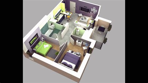 two bedroom house plans   YouTube