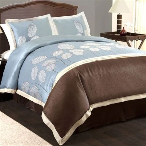 set alesha brown 44 best brown and blue bedding images on blue