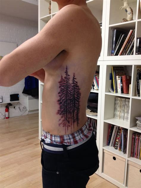 spruce tree tattoo evergreen tree tattoos trees