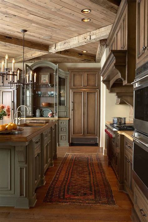 rustic home interiors my house assembly required 27 photos beautiful kitchen colors and cabinets