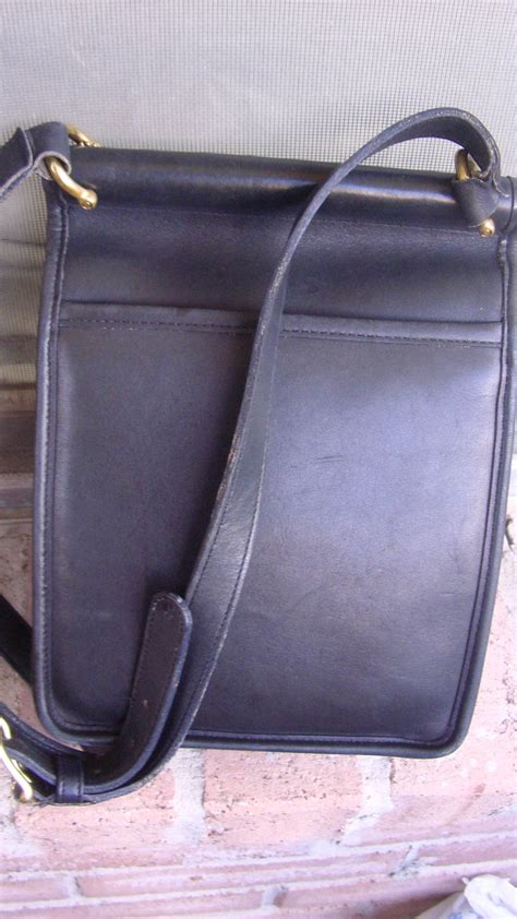 Coach Authentic Soft Leather Messenger For New With The Tag authentic vintage coach black cross messenger leather shoulder bag handbags purses