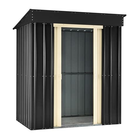 8 X 3 Shed Metal Pent Roof Garden Shed 8 X 3 Foot Homegenies