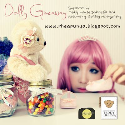 Boneka Teddy House 15 dolly giveaway by teddy house indonesia supported by