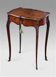 Library Table Desk by Antique Marquetry Occasional Table Antique Lamp Table