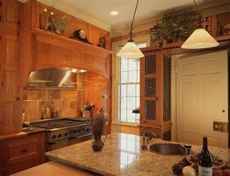 hand crafted plantation kitchen  cypress heart pine