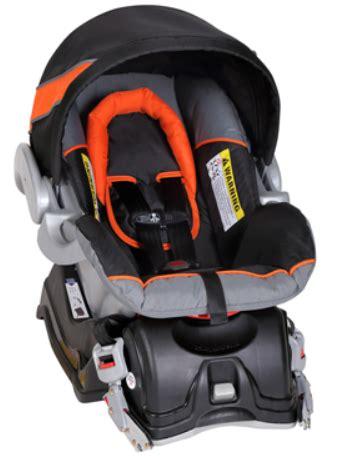 ez flex loc infant car seat installation baby trend expedition travel system millennium orange