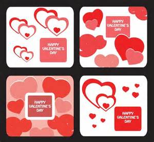 Free Valentines Card Templates by Greeting Card Templates For Day Free Vector