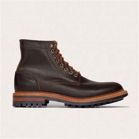 oak bootmakers brown waxed flesh commando sole
